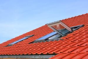 okno dachowe z moskitierą naklejaną firmy Roltex